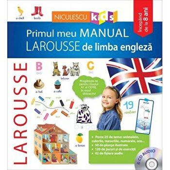 Primul meu manual Larousse de limba engleza. CD audio/*** imagine elefant.ro