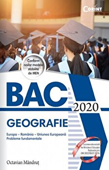 Bacalaureat 2020 - Geografie/Octavian Mandrut