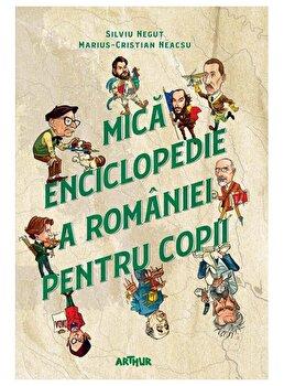 Mica enciclopedie a Romaniei pentru copii/Silviu Negut, Marius-Cristian Neacsu