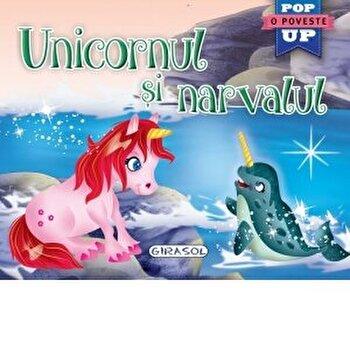 Pop-up -Unicornul si narvalul/***