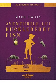 Aventurile lui Huckleberry Finn/Mark Twain imagine
