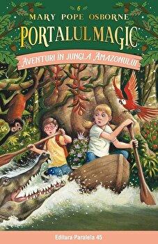 Imagine Aventuri In Jungla Amazonului - Portalul Magic Nr - 6 - mary Pope Osborne