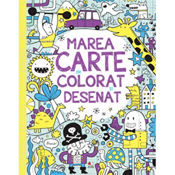 Marea carte de colorat si desenat/***