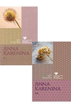 Set Anna Karenina (2 volume)/Lev Tolstoi imagine