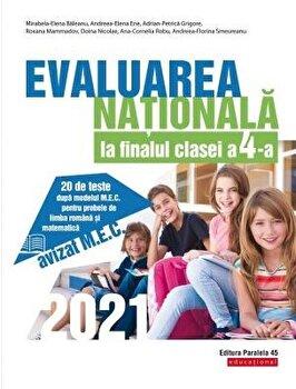 Evaluare nationala 2021. Cls. IV. Limba romana. Matematica/Mirabela-Elena Baleanu imagine