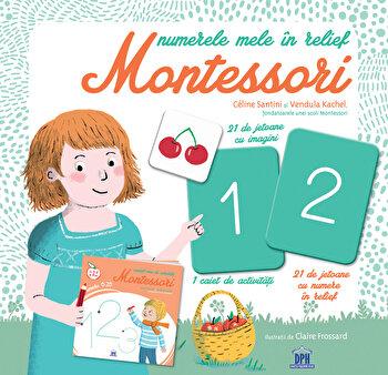 Numerele mele in relief Montessori-Celine Santini imagine