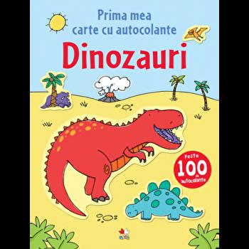Prima mea carte cu autocolante. Dinozauri-*** imagine