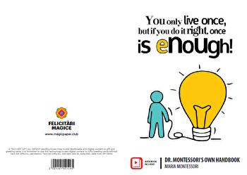 Felicitare - Dr. Montessori's Own Handbook/Maria Montessori imagine elefant.ro