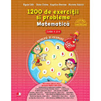 1200 de exercitii si probleme de matematica. Clasa a II-a/***