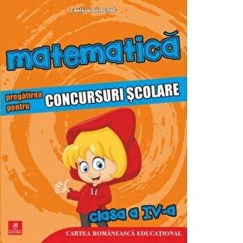 Matematica. Pregatirea pentru concursuri scolare cls IV/Daniela Berechet poza cate