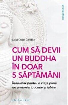 Cum sa devii un Buddha in doar 5 saptamani/Giulio Cesare Giacobbo imagine elefant.ro 2021-2022