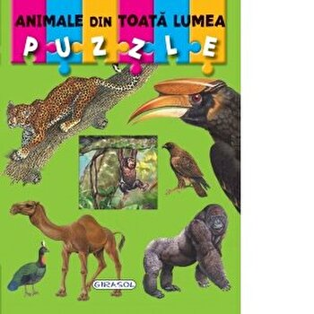 Puzzle - animale din toata lumea/*** imagine