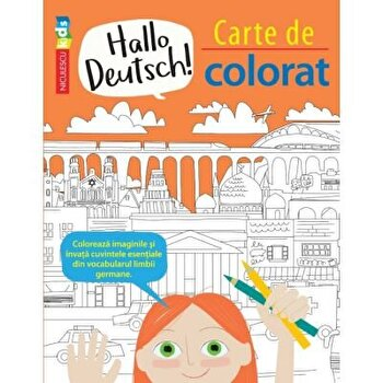 Hello Deutsch! Carte de colorat/Sam Hutchinson, Emilie Martin poza cate