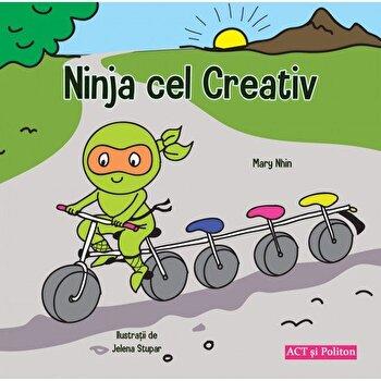 Ninja cel creativ - Carte/Mary Nhin