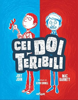 Cei doi teribili. Vol. 1/Mac Barnett, Jory John imagine elefant.ro 2021-2022
