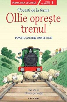 Povesti de la ferma. Ollie opreste trenul. Poveste cu litere mari de tipar. Nivelul 1/***