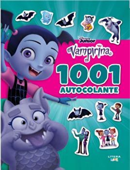 Disney Junior. Vampirina. 1001 de autocolante/***