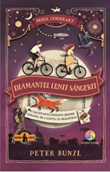 Cogheart vol. 2 Diamantul lunii sangerii/Peter Bunzl