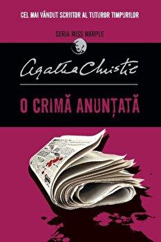 O crima anuntata. Seria Miss Marple/Agatha Christie imagine