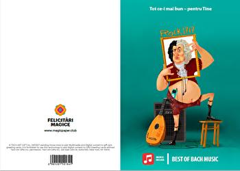 Felicitare - Best of Bach music/*** imagine
