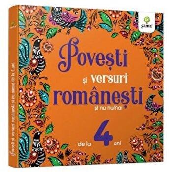 Povesti si versuri romanesti si nu numai pentru 4 ani/***