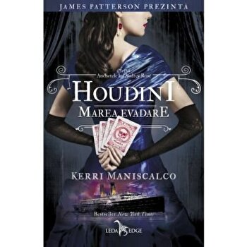 Anchetele lui Audrey Rose vol. 3. Houdini, marea evadare/Kerri Maniscalco imagine elefant 2021