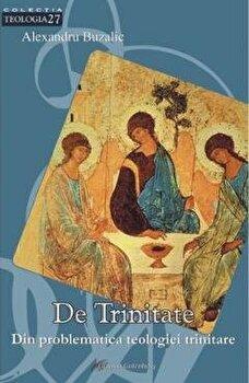 De Trinitate. Din problematica teologiei trinitare/Buzalic Alexandru imagine elefant.ro 2021-2022