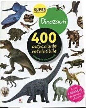 Dinozauri. 400 de autocolante refolosibile/***
