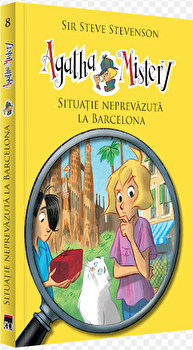 Agatha Mistery. Situatie neprevazuta la Barcelona. Vol. 8/Sir Steve Stevenson