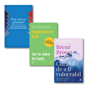 Pachet Regele Junglei/Napoleon Hill, Dr. Wayne W. Dyer, Brene Brown imagine