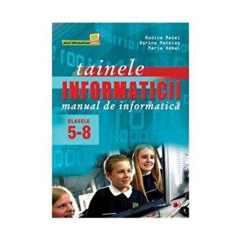 Manual de informatica clasele V-VIII/Dorina Mateias, Rodica Matei, Maria Dobai poza cate