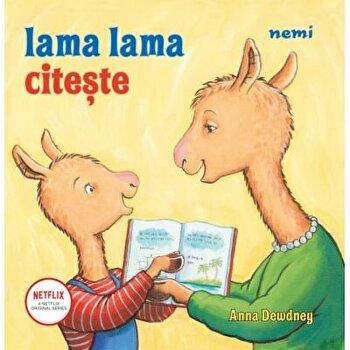 Lama lama citeste, Anna Dewdney/Anna Dewdney poza cate