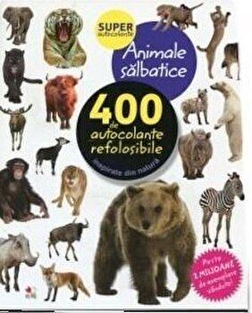 Animale salbatice. 400 de autocolante refolosibile/***