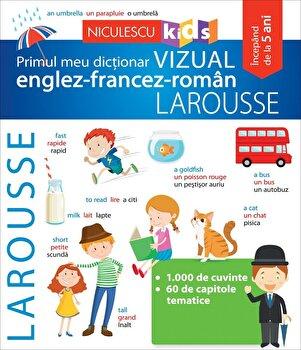 Primul meu dictionar vizual englez-francez-roman/Larousse