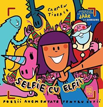 Selfie cu elfii/Carmen Tiderle