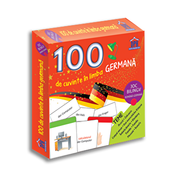 100 de cuvinte in limba germana - joc bilingv/Didactica Publishing House