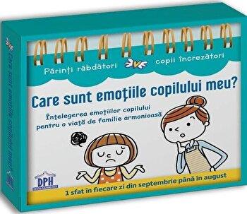 Care sunt emotiile copilului meu? Intelegerea emotiilor copilului (Calendar)/Anne Faujour, Elise Fournier imagine elefant 2021
