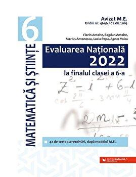 Evaluarea Nationala 2022 la finalul clasei a VI-a. Matematica si stiinte/Florin Antohe, Bogdan Antohe, Marius Antonescu, Lucia Popa, Agnes Voica