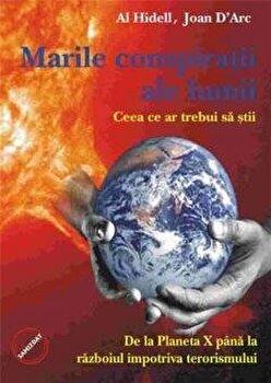 Marile conspiratii ale lumii/Al Hidell Joan D Arc imagine elefant.ro 2021-2022