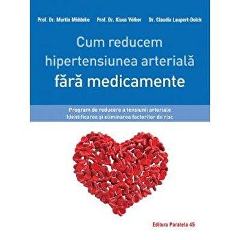 Cum reducem hipertensiunea arteriala fara medicamente/Laupert-Deick Claudia, Middeke Martin, Volker Klaus imagine