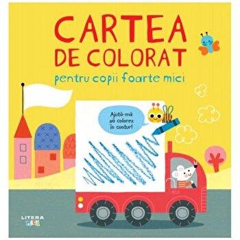 Cartea de colorat pentru copii foarte mici/***