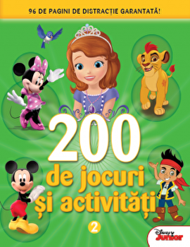 Disney. Alte 200 de Jocuri si activitati. Vol. 2-*** imagine