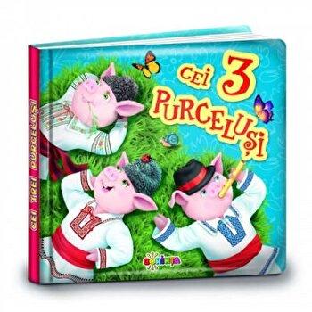 Carti mici pentru pici - Cei 3 purcelusi/***