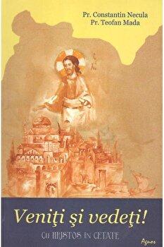 Veniti si vedeti! Cu Hristos in cetate/Constantin Necula imagine elefant.ro