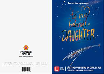 Felicitare - Carti de aur pentru un copil de aur (pentru ea)/Literatura universala legendara imagine elefant.ro