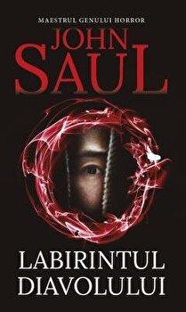 Labirintul diavolului/John Saul imagine
