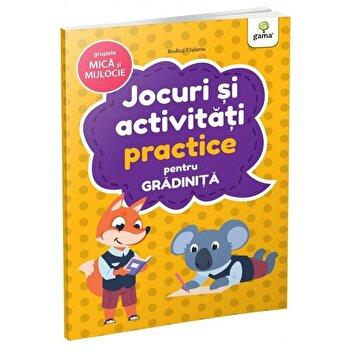 Jocuri si activitati practice pentru gradinita - grupele. mica si mijlocie/***
