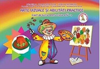 Arte vizuale si abilitati practice, Clasa a IV-a - Caiet de lucru/*** imagine elefant.ro 2021-2022