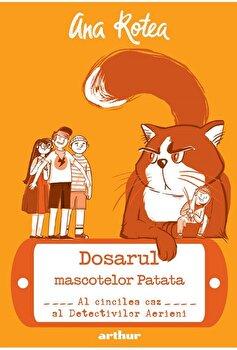 Detectivii aerieni 5: Dosarul mascotelor patata/Ana Rotea