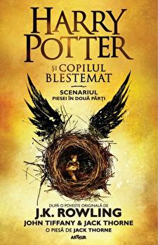Harry Potter 8 ...si copilul blestemat/J.K. Rowling, John Tiffany, Jack Thorne